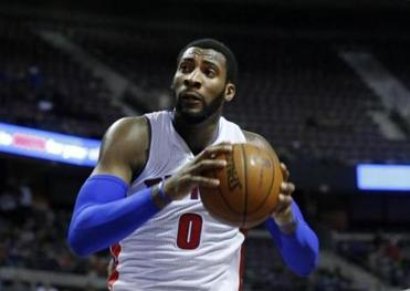Andre Drummond of the Pistons is determined to become a top center.